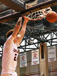 Jacob Germany. UTSA beat UTEP 86-70 on Saturday at the UTSA Convocation Center. - photo by Joe Alexander