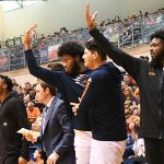 UTSA bench. UTSA beat UTEP 86-70 on Saturday at the UTSA Convocation Center. - photo by Joe Alexander