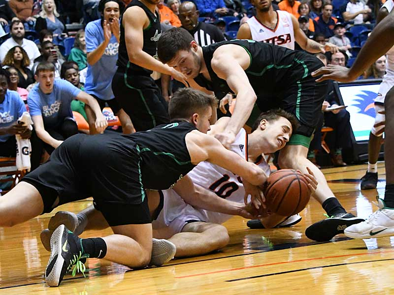 Erik Czumbel. UTSA beat Marshall 72-63 in Conference USA on Thursday at the UTSA Convocation Center. - photo by Joe Alexander