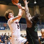 Jacob Germany. UTSA beat Marshall 72-63 in Conference USA on Thursday at the UTSA Convocation Center. - photo by Joe Alexander