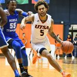 Makani Whiteside. UTSA lost to Middle Tennessee on Saturday at the UTSA Convocation Center. - photo by Joe Alexander