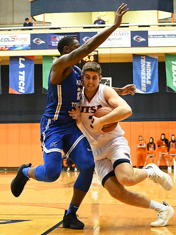 Byron Frohnen. UTSA lost to Middle Tennessee on Saturday at the UTSA Convocation Center. - photo by Joe Alexander