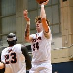 Jacob Germany. UTSA lost to Marshall 82-77 Saturday in the Roadrunners' final home game of the season at the UTSA Convocation Center. - photo by Joe Alexander