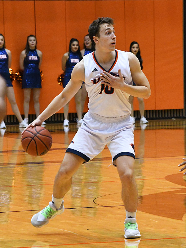 Erik Czumbel. UTSA came from behind in the second half to beat UAB 66-59 in a Conference USA bonus play game Sunday at the UTSA Convocation Center. - photo by Joe Alexander