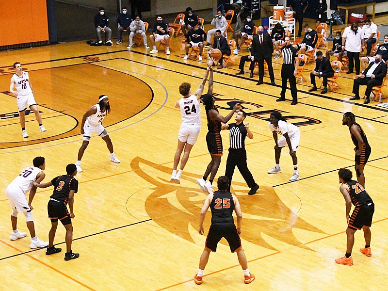 UTSA beat UT-Permian Basin 97-71 on Friday, Nov. 27, 2020 in the men's basketball season opener at the Convocation Center.