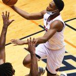 Jordan Ivy-Curry. UTSA beat UT-Permian Basin 97-71 on Friday, Nov. 27, 2020 in the men's basketball season opener at the Convocation Center.