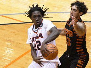 Keaton Wallace had 19 points and a team-high five assists in UTSA's season opener as the Roadrunners beat UT-Permian Basin 97-71 on Friday, Nov. 27, 2020 at the Convocation Center.