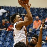 Eric Parrish. UTSA beat Lamar 88-66 on Tuesday, Dec. 22, 2020, at the Convocation Center. - photo by Joe Alexander