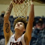 Jacob Germany. UTSA beat Lamar 88-66 on Tuesday, Dec. 22, 2020, at the Convocation Center. - photo by Joe Alexander