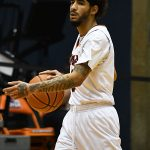 Jhivvan Jackson. UTSA beat Lamar 88-66 on Tuesday, Dec. 22, 2020, at the Convocation Center. - photo by Joe Alexander