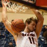 Lachlan Bofinger. UTSA beat Lamar 88-66 on Tuesday, Dec. 22, 2020, at the Convocation Center. - photo by Joe Alexander