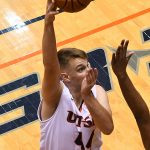 Luka Barisic. UTSA beat Lamar 88-66 on Tuesday, Dec. 22, 2020, at the Convocation Center. - photo by Joe Alexander