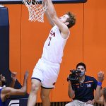 Lachlan Bofinger. UTSA beat Our Lady of the Lake 102-70 on Sunday, Dec. 20, 2020, at the UTSA Convocation Center. - photo by Joe Alexander