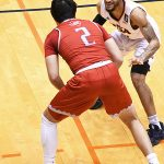 Jhivvan Jackson. UTSA wanted to emphasize defense on Friday in a 91-62 victory over Sul Ross State at the Convocation Center. - photo by Joe Alexander