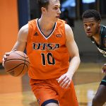 Erik Czumbel. UTSA beat North Texas 77-69 in a Conference USA game on Saturday, Jan. 9, 2021 at the Convocation Center. - photo by Joe Alexander