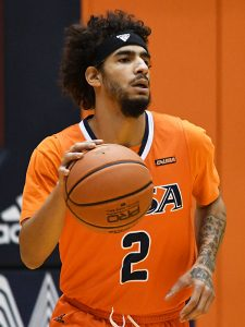 Jhivvan Jackson. UTSA beat North Texas 77-69 in a Conference USA game on Saturday, Jan. 9, 2021 at the Convocation Center. - photo by Joe Alexander
