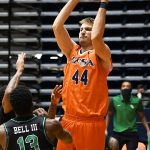 Luka Barisic. UTSA beat North Texas 77-69 in a Conference USA game on Saturday, Jan. 9, 2021 at the Convocation Center. - photo by Joe Alexander