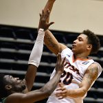 Eric Parrish. UTSA lost to North Texas 77-70 in Conference USA action on Friday, Jan. 8, 2021, at the Convocation Center. - photo by Joe Alexander