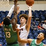 Jacob Germany. UTSA lost to North Texas 77-70 in Conference USA action on Friday, Jan. 8, 2021, at the Convocation Center. - photo by Joe Alexander