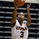 UTSA's Jordan Ivy Curry scored eight points off the bench as North Texas beat UTSA 77-70 in Conference USA action on Friday, Jan. 8, 2021, at the Convocation Center. - photo by Joe Alexander