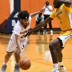 Jhivvan Jackson. UTSA beat Southern Miss 70-64 in Conference USA action at the Convocation Center on Friday, Jan. 22, 2021. - photo by Joe Alexander