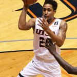 Eric Parrish. UTSA beat Southern Miss 70-64 in Conference USA action at the Convocation Center on Friday, Jan. 22, 2021. - photo by Joe Alexander