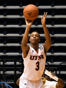 Jordan Ivy-Curry. UTSA beat Southern Miss 70-64 in Conference USA action at the Convocation Center on Friday, Jan. 22, 2021. - photo by Joe Alexander