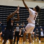 Jhivvan Jackson. UTSA beat UTEP 86-79 in a Conference USA game on Thursday, Jan. 28, 2021 at the UTSA Convocation Center. - photo by Joe Alexander