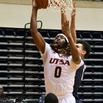 Cedrick Alley Jr. UTSA beat UTEP 86-79 in a Conference USA game on Thursday, Jan. 28, 2021 at the UTSA Convocation Center. - photo by Joe Alexander