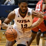Phoenix Ford. UTSA beat Florida Atlantic 84-80 on Friday, Feb. 12, 2021, in the first game of a Conference USA back-to-back. - photo by Joe Alexander