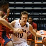 Erik Czumbel. UTSA beat Florida Atlantic 84-80 on Friday, Feb. 12, 2021, in the first game of a Conference USA back-to-back. - photo by Joe Alexander