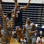Jorday Ivy-Curry. UTSA beat UAB 96-79 in Conference USA on the Roadrunners' senior day for Jhivvan Jackson, Keaton Wallace and Phoenix Ford on Feb. 27, 2021, at the Convocation Center. - photo by Joe Alexander