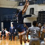 Cedrick Alley Jr. UTSA beat UAB 96-79 in Conference USA on the Roadrunners' senior day for Jhivvan Jackson, Keaton Wallace and Phoenix Ford on Feb. 27, 2021, at the Convocation Center. - photo by Joe Alexander