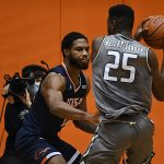 Phoenix Ford. UTSA beat UAB 96-79 in Conference USA on the Roadrunners' senior day for Jhivvan Jackson, Keaton Wallace and Phoenix Ford on Feb. 27, 2021, at the Convocation Center. - photo by Joe Alexander