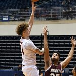 Jacob Germany. UTSA beat Southwestern Adventist from Keene, Texas, 123-43 in a non-conference game on Thursday, March 4, 2021, at the UTSA Convocation Center. - photo by Joe Alexander
