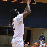 Cedrick Alley Jr. UTSA beat Southwestern Adventist from Keene, Texas, 123-43 in a non-conference game on Thursday, March 4, 2021, at the UTSA Convocation Center. - photo by Joe Alexander