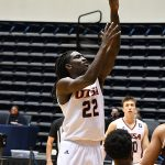 Keaton Wallace. UTSA beat Southwestern Adventist from Keene, Texas, 123-43 in a non-conference game on Thursday, March 4, 2021, at the UTSA Convocation Center. - photo by Joe Alexander