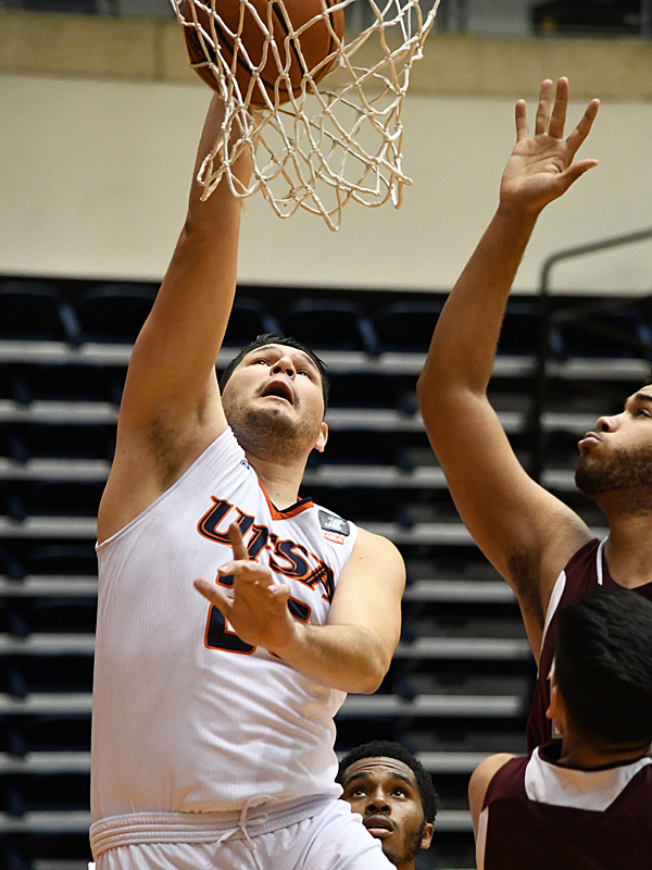 Adrian Rodriguez. UTSA beat Southwestern Adventist from Keene, Texas, 123-43 in a non-conference game on Thursday, March 4, 2021, at the UTSA Convocation Center. - photo by Joe Alexander