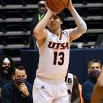 Artan Jabbar. UTSA beat Southwestern Adventist from Keene, Texas, 123-43 in a non-conference game on Thursday, March 4, 2021, at the UTSA Convocation Center. - photo by Joe Alexander