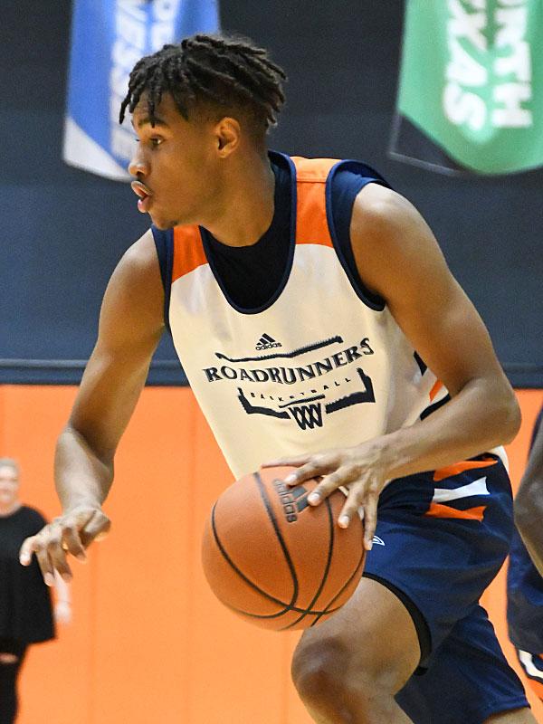Lamin Sabally is a 6-foot-7 freshman guard who comes to the UTSA men's basketball team from Germany. - photo by Joe Alexander